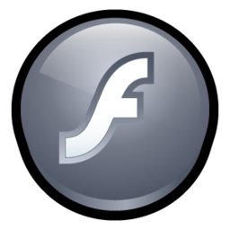 256x256px size png icon of Macromedia Flash Player