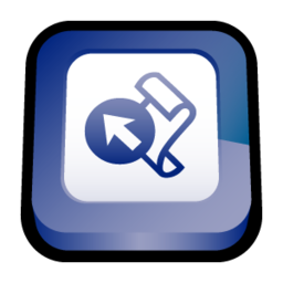256x256px size png icon of Microsoft Office Frontpage