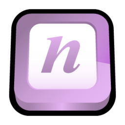 256x256px size png icon of Microsoft Office Onenote