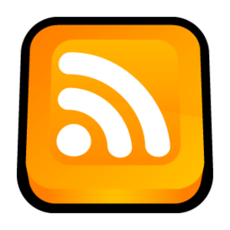 256x256px size png icon of Newsfeed RSS