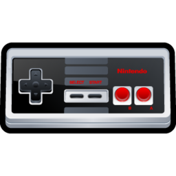 256x256px size png icon of Nintendo NES