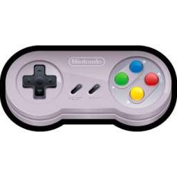 256x256px size png icon of Nintendo SNES