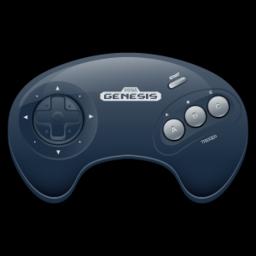 256x256px size png icon of Sega Genesis