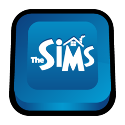 256x256px size png icon of Sims