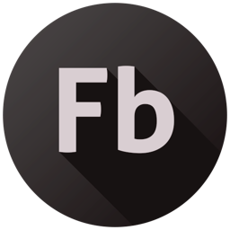 256x256px size png icon of Adobe Flash Builder