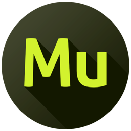 256x256px size png icon of Adobe Muse
