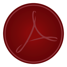 256x256px size png icon of Adobe Acrobat