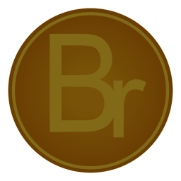 256x256px size png icon of Adobe Br