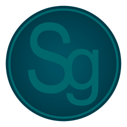 256x256px size png icon of Adobe Sg