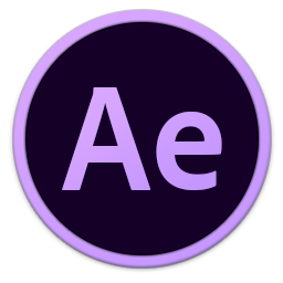 256x256px size png icon of Adobe Ae
