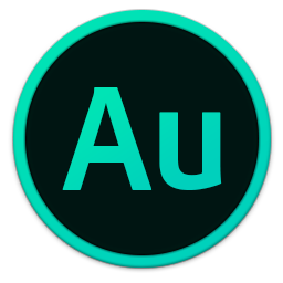 256x256px size png icon of Adobe Au