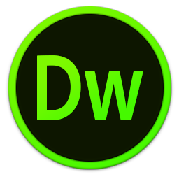 256x256px size png icon of Adobe Dw