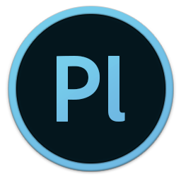 256x256px size png icon of Adobe Pl
