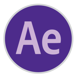 256x256px size png icon of After Effects