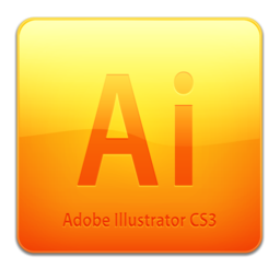 256x256px size png icon of Ai CS3 Icon (clean)