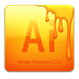256x256px size png icon of Ai CS3