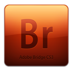 256x256px size png icon of Br CS3 Icon (clean)