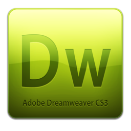 256x256px size png icon of Dw CS3 Icon (clean)