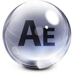 256x256px size png icon of aftereffects