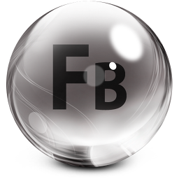 256x256px size png icon of flashbuilder