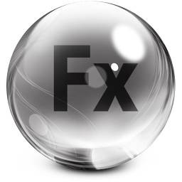 256x256px size png icon of flex
