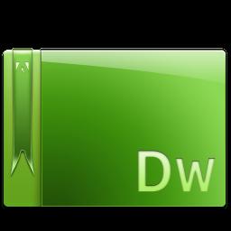 256x256px size png icon of Dreamweaver CS 5