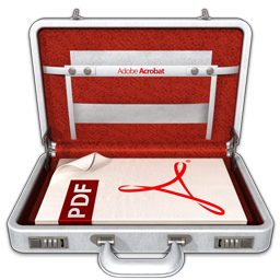 256x256px size png icon of Adobe Acrobat Professional
