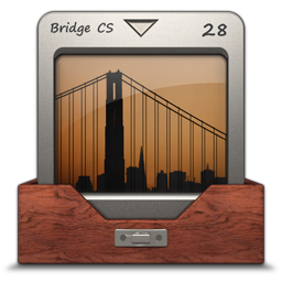 256x256px size png icon of Adobe Bridge