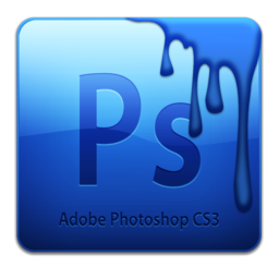 256x256px size png icon of Adobe Photoshop CS3