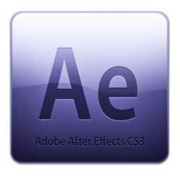 256x256px size png icon of Adobe After Effects CS3 Icon (clean)