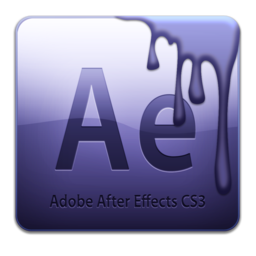 256x256px size png icon of Adobe After Effects CS3