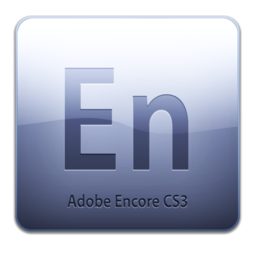 256x256px size png icon of Adobe Encore CS3 Icon (clean)