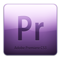 256x256px size png icon of Adobe Premiere CS3 Icon (clean)