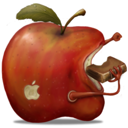 256x256px size png icon of redApple