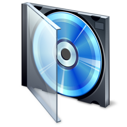 256x256px size png icon of Compact Disk