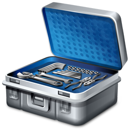 256x256px size png icon of Toolbox