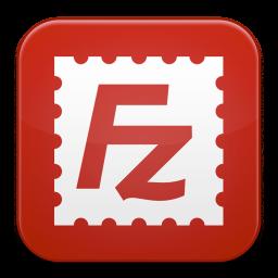 256x256px size png icon of Filezilla 1