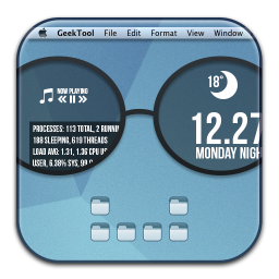 256x256px size png icon of GeekTool
