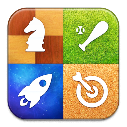 256x256px size png icon of Game Center
