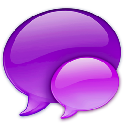 256x256px size png icon of Small Pink Balloon