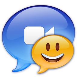 256x256px size png icon of iChat Redrawn