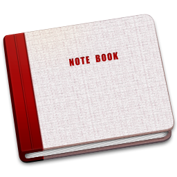 256x256px size png icon of Closed Note