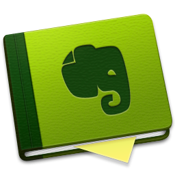 256x256px size png icon of Evernote Alt