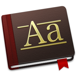 256x256px size png icon of Font Book Alt