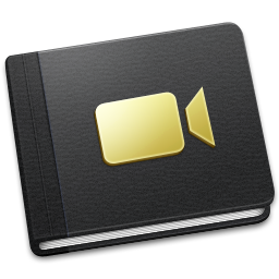 256x256px size png icon of Movie Book
