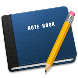 256x256px size png icon of Note Book