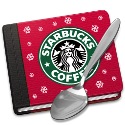 256x256px size png icon of Starbucks Book Alt