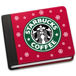 256x256px size png icon of Starbucks Book