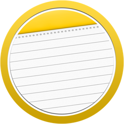 256x256px size png icon of Note