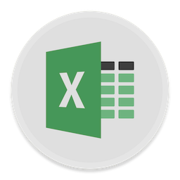 256x256px size png icon of Excel